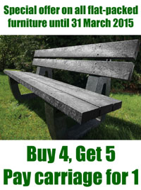 Special offer of flat-packed furniture until March 31st