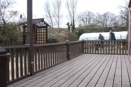 Recycled plastic decking walkways and boardwalks for Recycled plastic decking